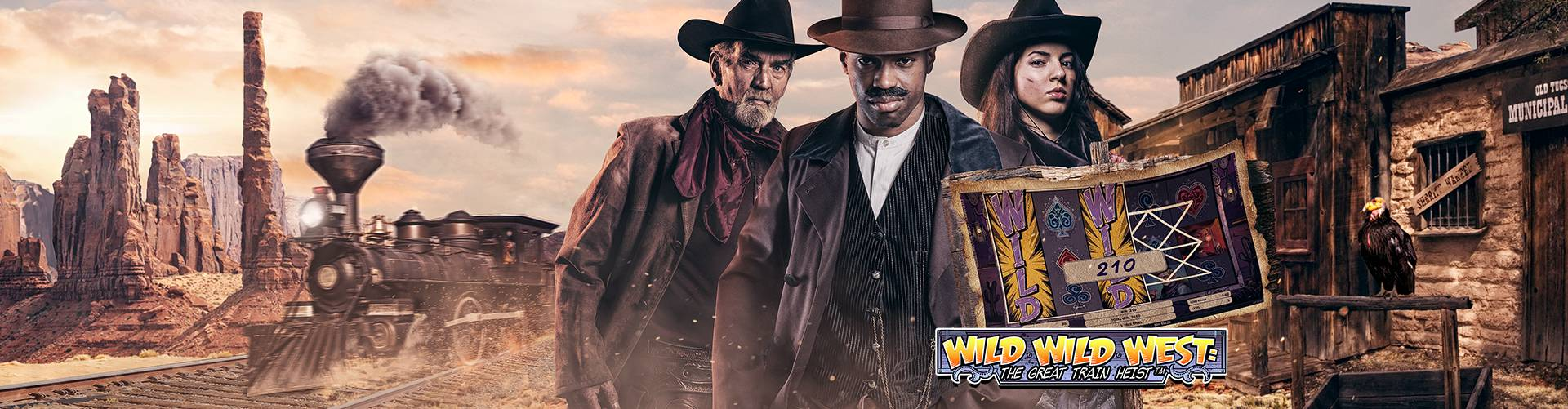 Wild Wilst West: The Great Rain Heist slot mobile NetEnt Wild Sultan NetEnt Casino