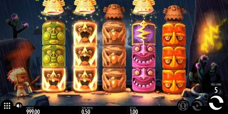 Turning Totems slot Thunderkick jeu CELA